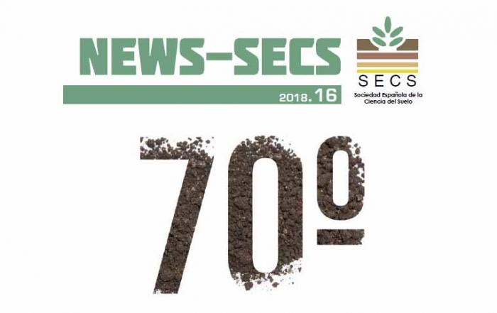 El proyecto Life Riverphy en el NEWS-SECS Enero 2018 de la Sociedad Española de la Ciencia del Suelo