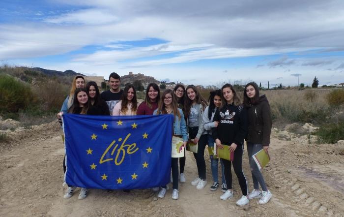 Alumnos de 2º Bachillerato del IES Príncipe de Asturias visitan el Proyecto Riverphy
