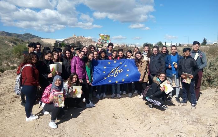 Alumnos del IES Príncipe de Asturias visitan el Proyecto Riverphy